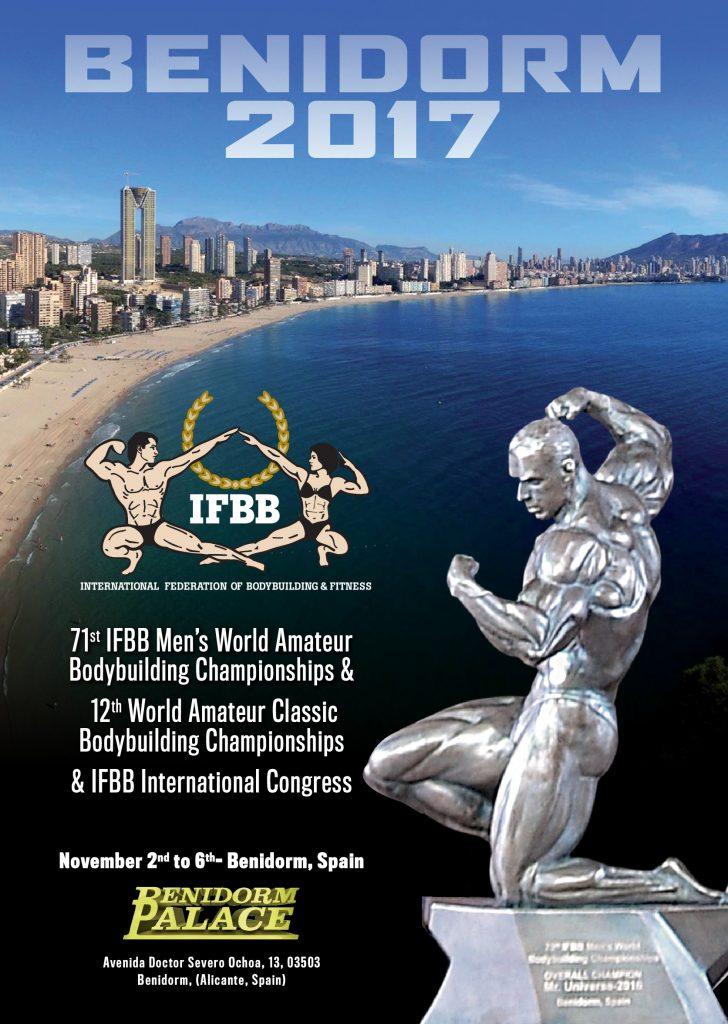 IFBB WORLD MEN CHAMPIONSHIPS & ANNUAL CONGRESS 2017
